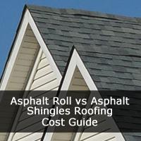 Asphalt Roll vs Asphalt Shingles Cost Guide